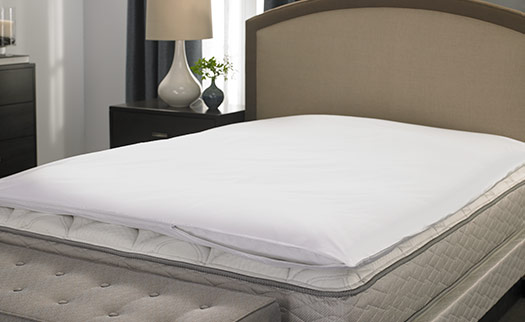 Featherbed Protector Hilton To Home Hotel Collection