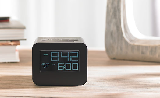 Hilton LCD Alarm Clock | Hilton to Home Hotel Collection
