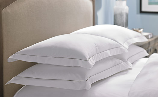 Hotel Embroidered Pillow Shams Hilton To Home Hotel